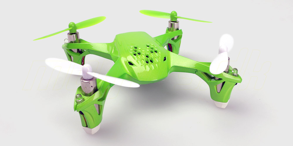 morfars-hubsan-drone-h108-grøn